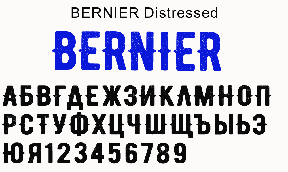 Distressed deutsch